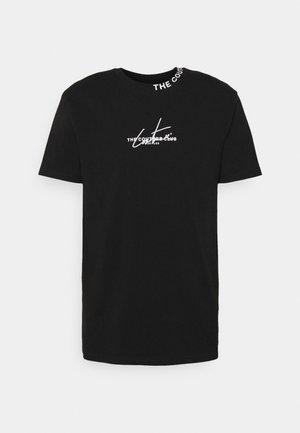 SIGNATURE LOGO - Print T-shirt - black