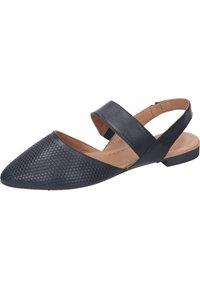 Piazza - Ankle strap ballet pumps - schwarz - 1