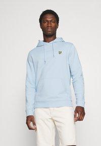 Lyle & Scott - HOODIE - Sweater - light blue - 0