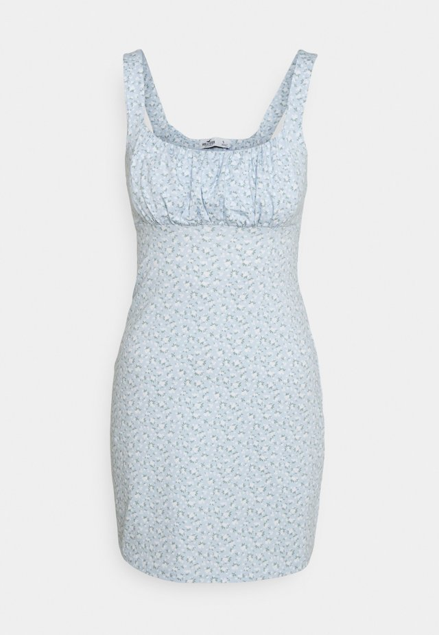 BARE DRESS - Jerseyklänning - light blue floral