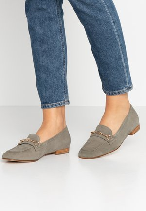 Nazouvací boty - khaki