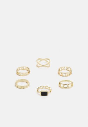 PCPRIMROSE 6 PACK - Ring - gold-coloured