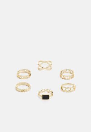PCPRIMROSE 6 PACK - Anello - gold-coloured