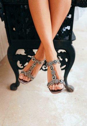BELLA - Sandals - silver