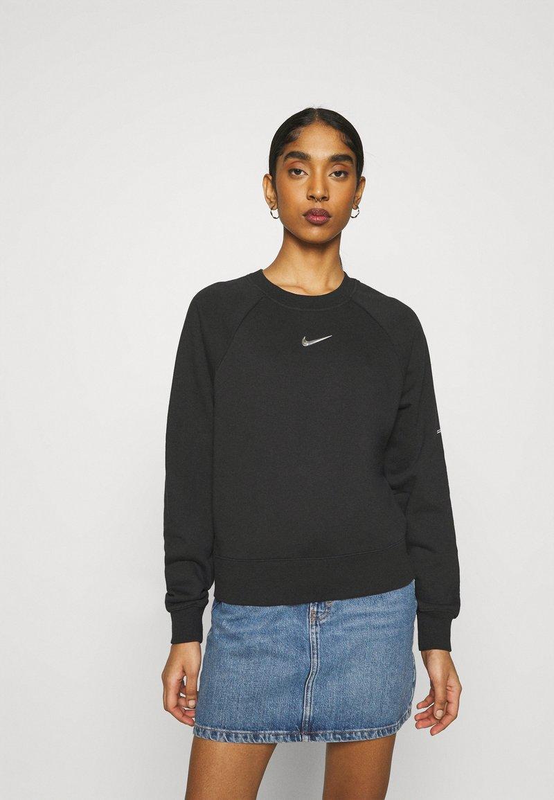 Nike Sportswear - CREW  - Mikina - black/white