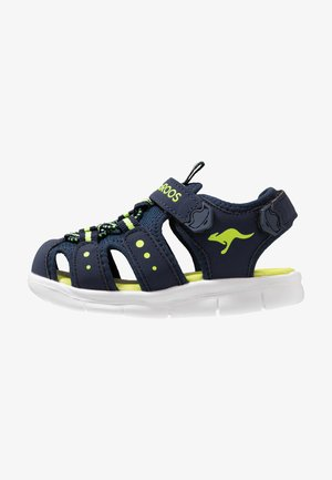 K-MINI - Sandaler - dark navy/lime