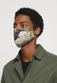 Alpha Industries - FACE MASK UNISEX - Tygmasker - mixed colors - 2