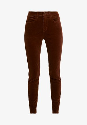 Trousers - medium brown