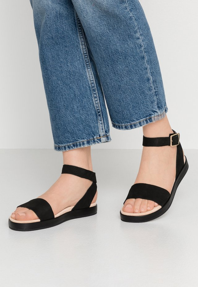 BOTANIC IVY - Sandals - black