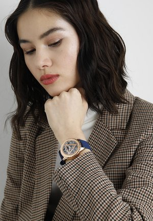 SMART WATCH - Smartwatch - rose gold-coloured/blue