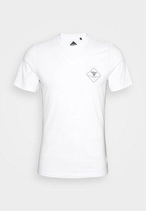 BOX LOGO TEE - T-Shirt print - white