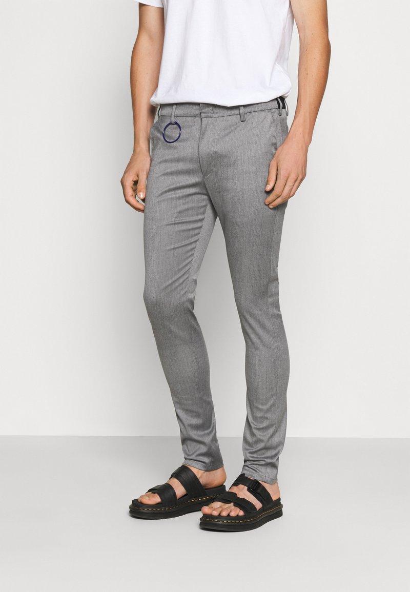 Replay - Pantaloni - mottled grey