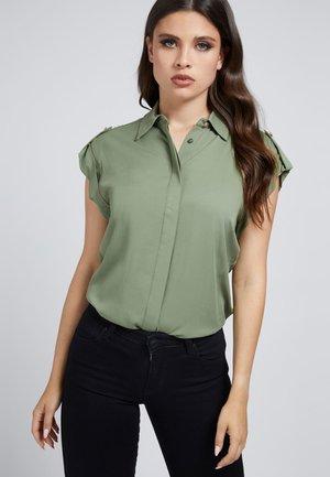 KURZARM - Button-down blouse - grün