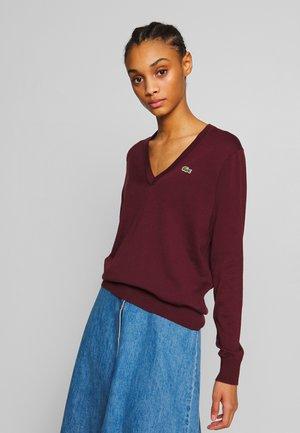 AF5475 - Sweatshirt - pruneau