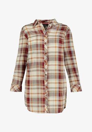 Button-down blouse - mandarine