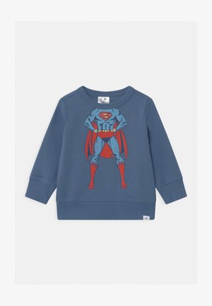 TODDLER BOY SUPERMAN CREW - Mikina - bainbridge blue