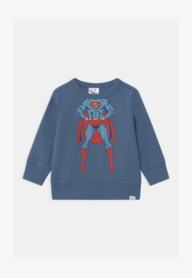 TODDLER BOY SUPERMAN CREW - Sweatshirt - bainbridge blue