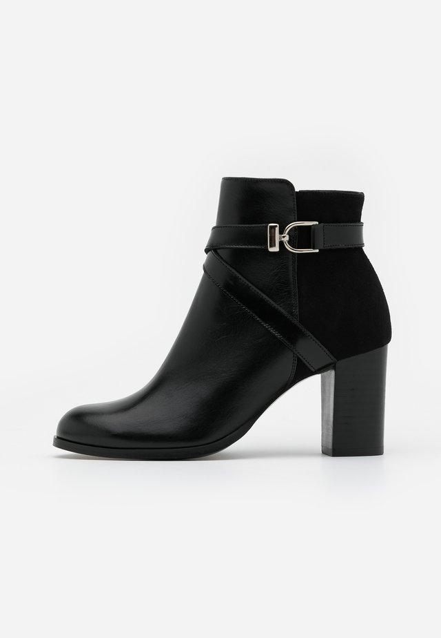 DURWIN - Ankelstøvler - noir