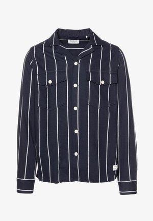 CLIPPER BIG SHIRT - Košile - navy stripe