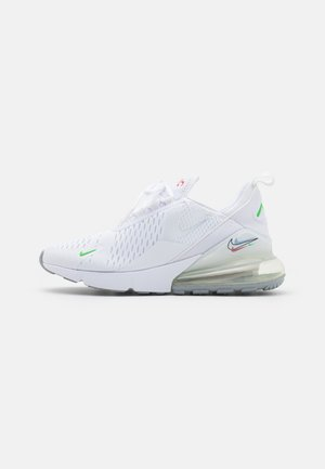 AIR MAX 270 UNISEX - Tenisky - white/light green spark/aluminum/black/chile red/wolf grey