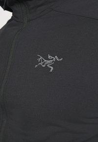 Arc'teryx - KYANITE LT HOODY MENS - Fleece jacket - black - 5