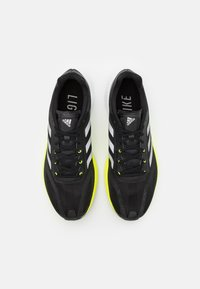 adidas Performance - Neutrala löparskor - core black/solar yellow - 3