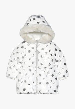 BABY FLOW PADDED FOIL SPOT  - Zimní kabát - cream