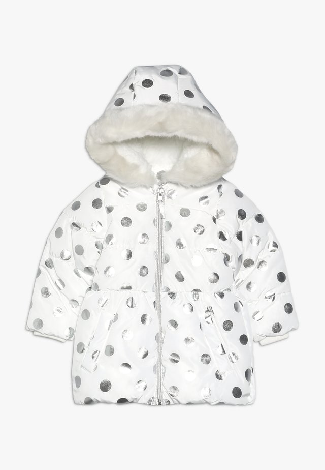 BABY FLOW PADDED FOIL SPOT  - Winter coat - cream