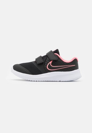 STAR RUNNER 2 UNISEX - Zapatillas de running neutras - black/sunset pulse/white