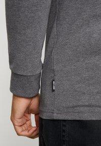 Only & Sons - ONSESSAY ROLLNECK TEE - Long sleeved top - dark grey melange - 5