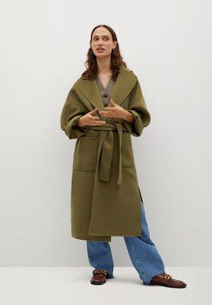 CUCUTI - Classic coat - lime
