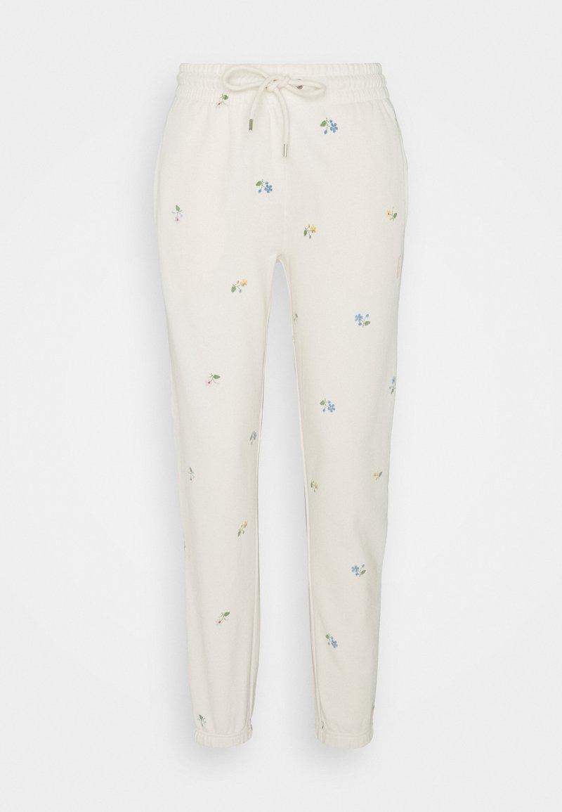GAP - TALL - Pantaloni sportivi - off-white