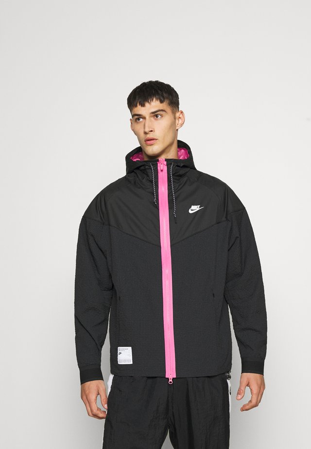 Summer jacket - black/pinksicle