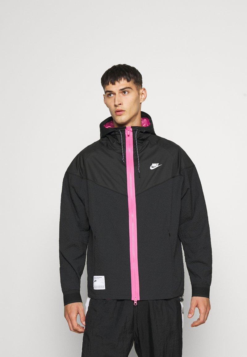 Nike Sportswear - Summer jacket - black/pinksicle