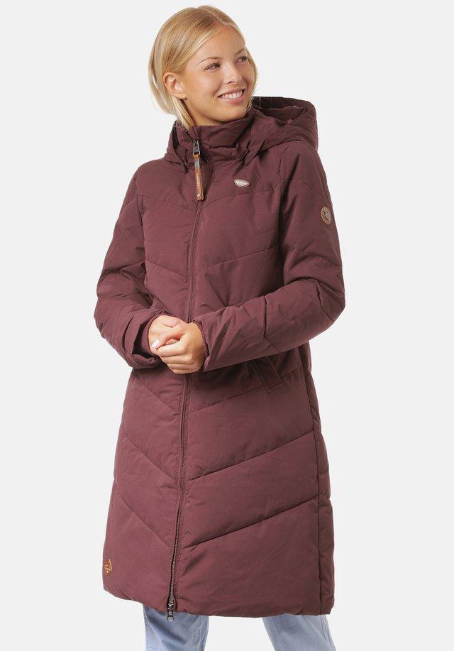 REBELKA - Winter coat - wine red