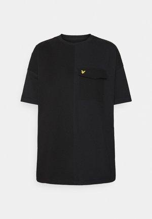 MIX - Print T-shirt - jet black