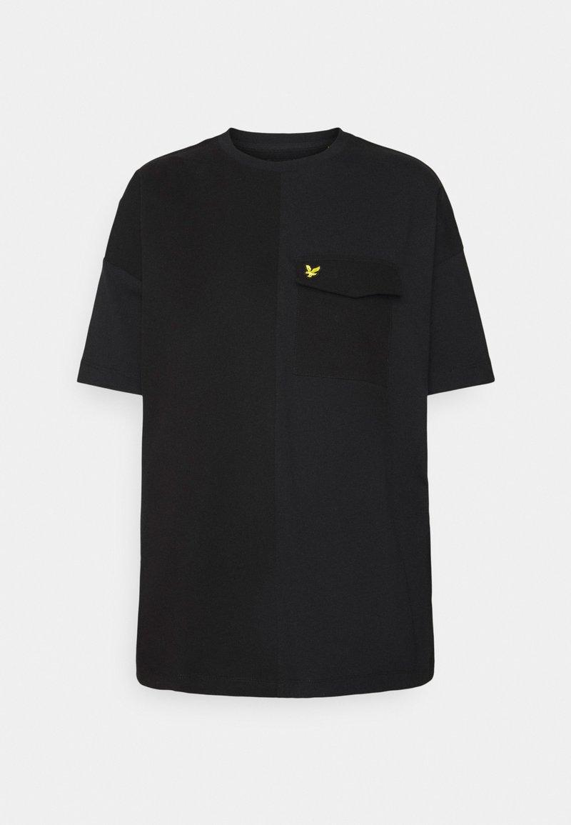 Lyle & Scott - MIX - Print T-shirt - jet black