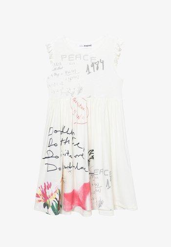 KAREN - Vestido ligero - white