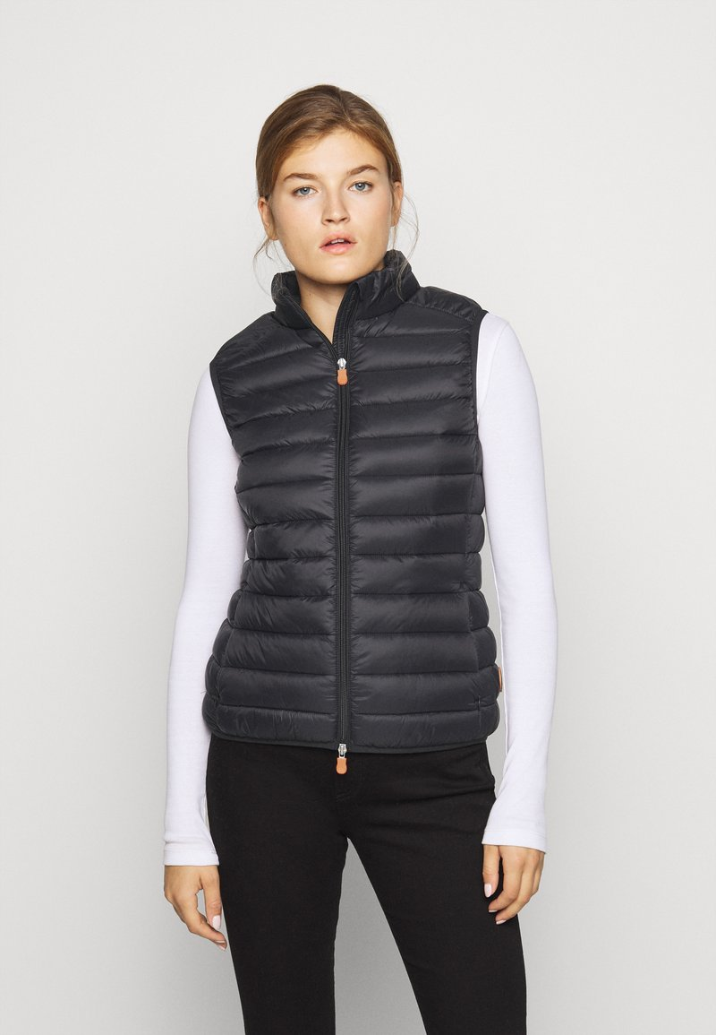 Save the duck - GIGAY - Waistcoat - black