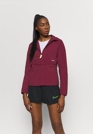 Training jacket - dark beetroot