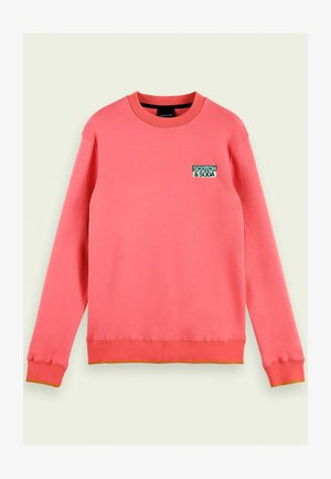 WITH SEASONAL ARTWORKS - Sweatshirt - pink smoothie