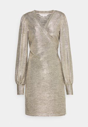 FLEUR - Cocktail dress / Party dress - gold foil