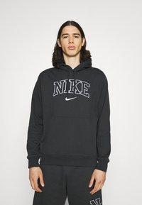 Nike Sportswear - RETRO HOODIE - Sweatshirt - off noir - 0