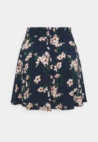 Vero Moda - VMSIMPLY EASY SHORT SKATER SKIRT - Mini skirt - navy blazer/imma - 1
