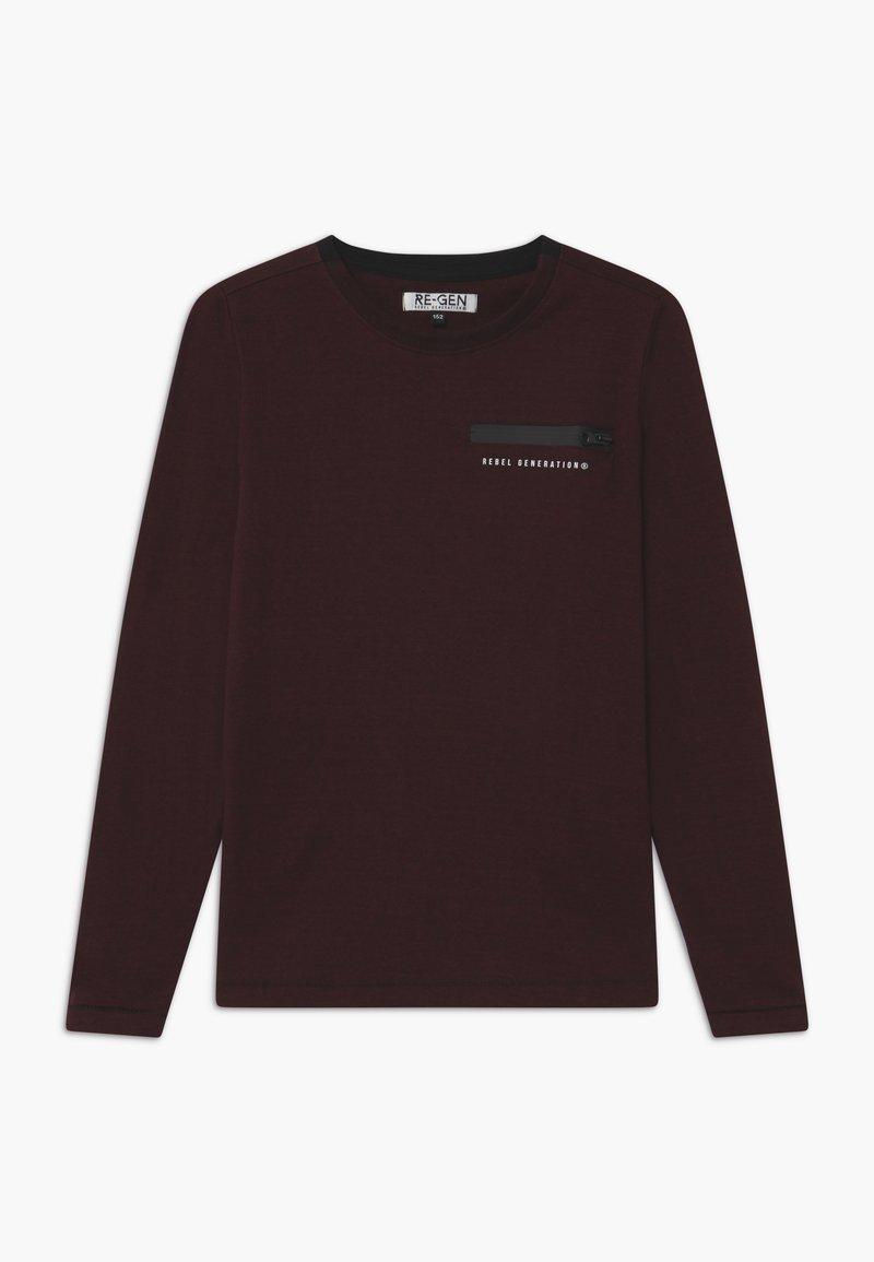 Re-Gen - Langærmede T-shirts - port royal