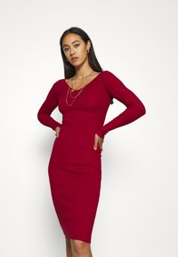 Even&Odd - JUMPER DRESS - Shift dress - red - 0