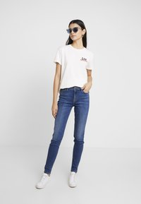 Lee - SCARLETT HIGH - Jeansy Skinny Fit - mid copan - 1