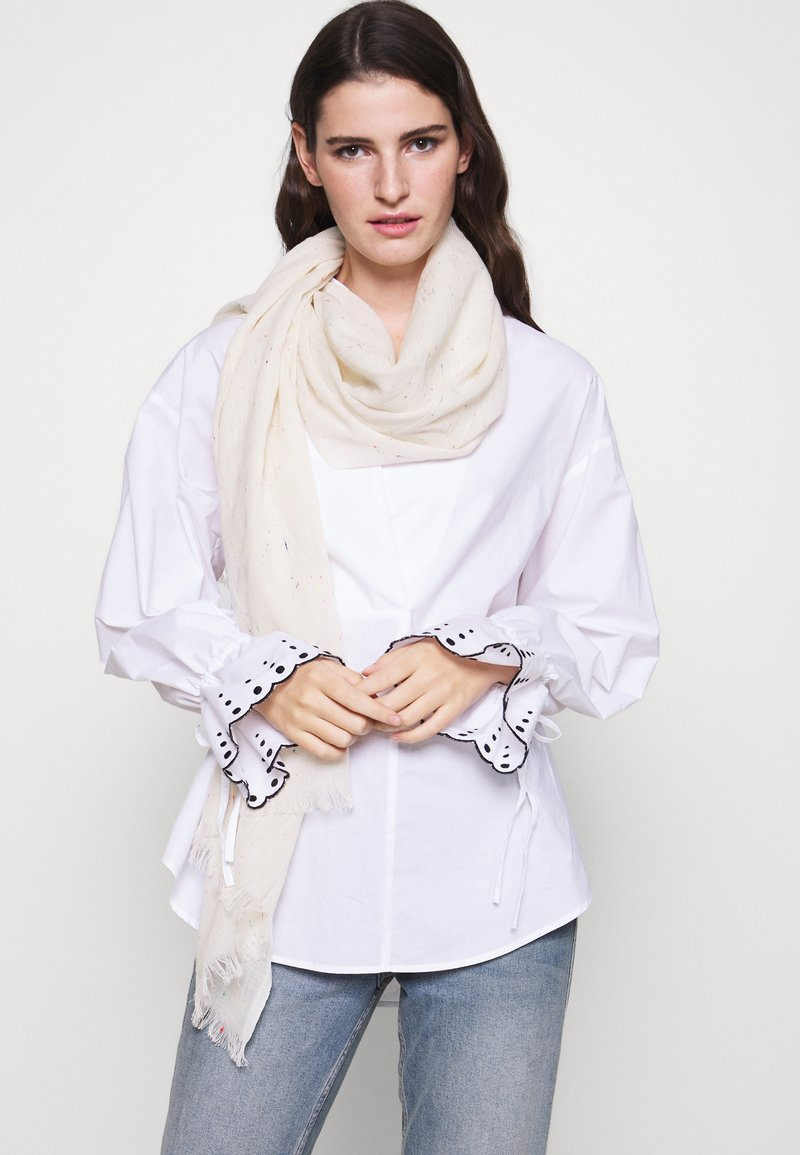 CLOSED - SCARF LIGHT STRIPE - Scarf - barely beige