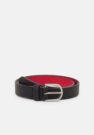 Belt - black/red