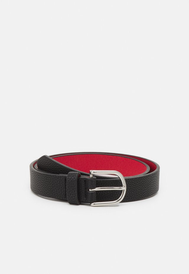 Belt - black/red
